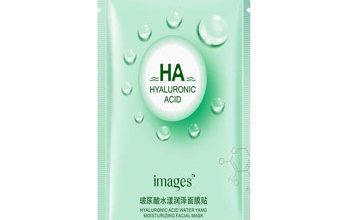 Photo of ماسک ورقه ای هیالورونیک اسید سبز images